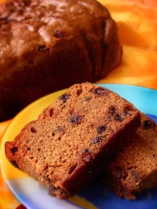 Steamed Christmas Fruit Cake - small
